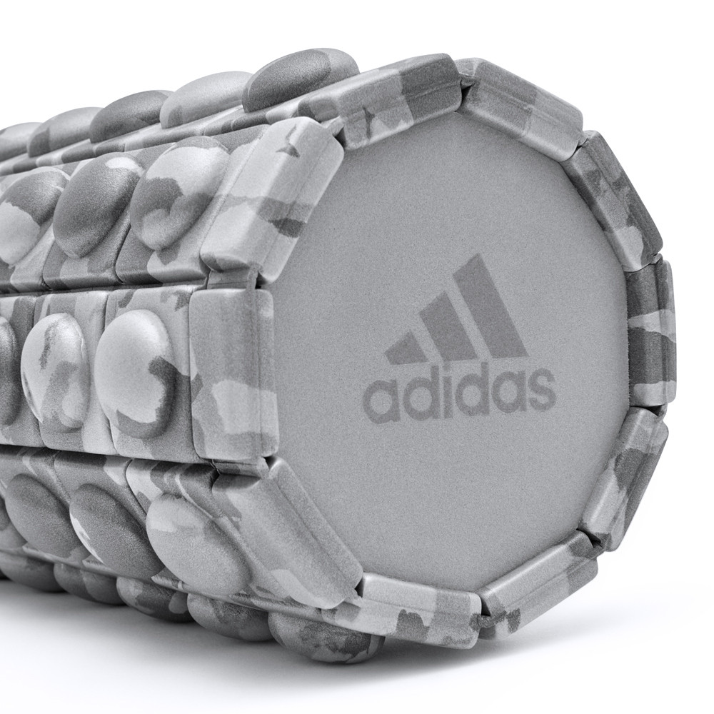 adidas Grey Camo Textured Foam Roller