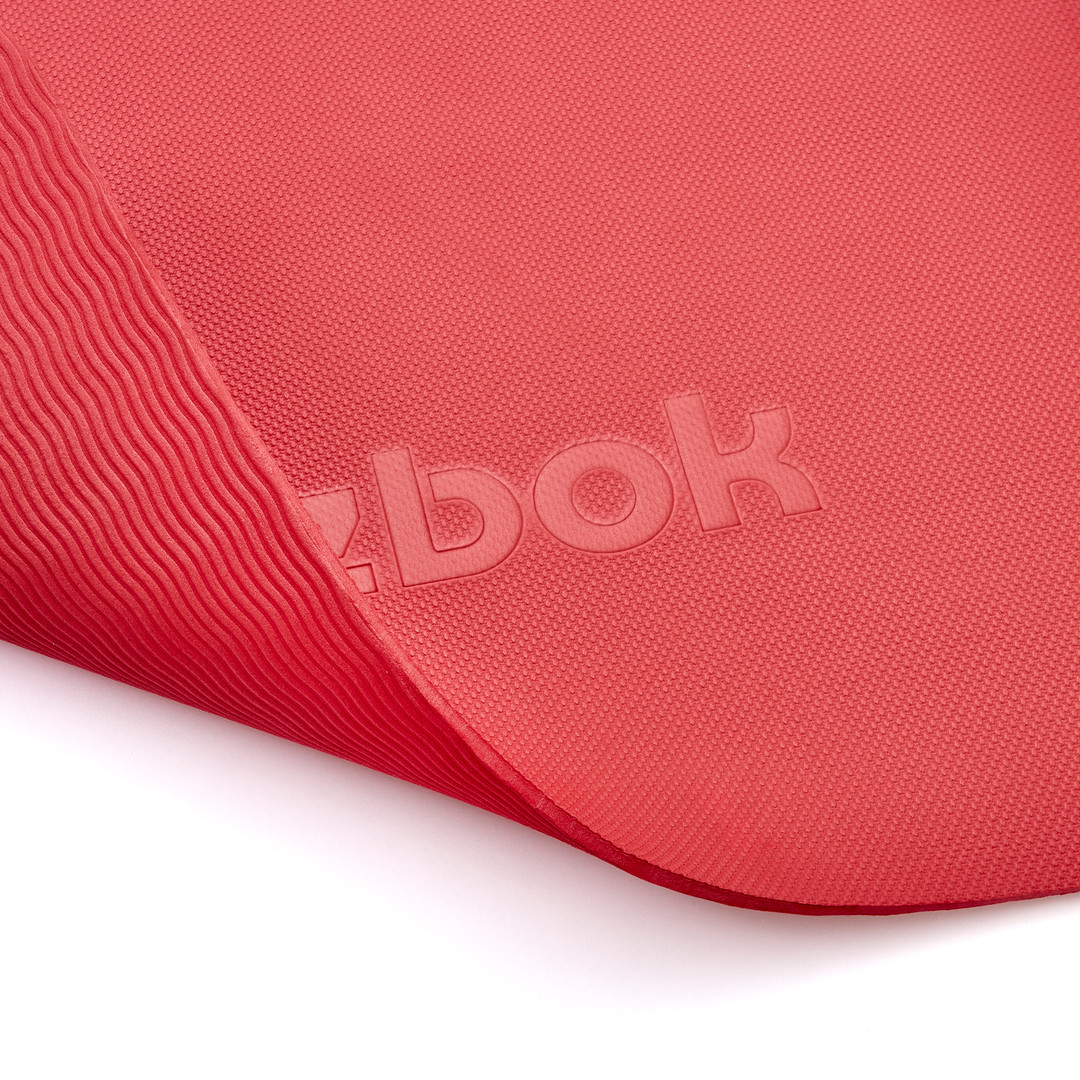 Reebok 5mm red yoga mat