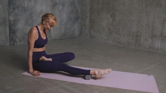 adidas Mini Textured Massage Roller - Grey Camo
