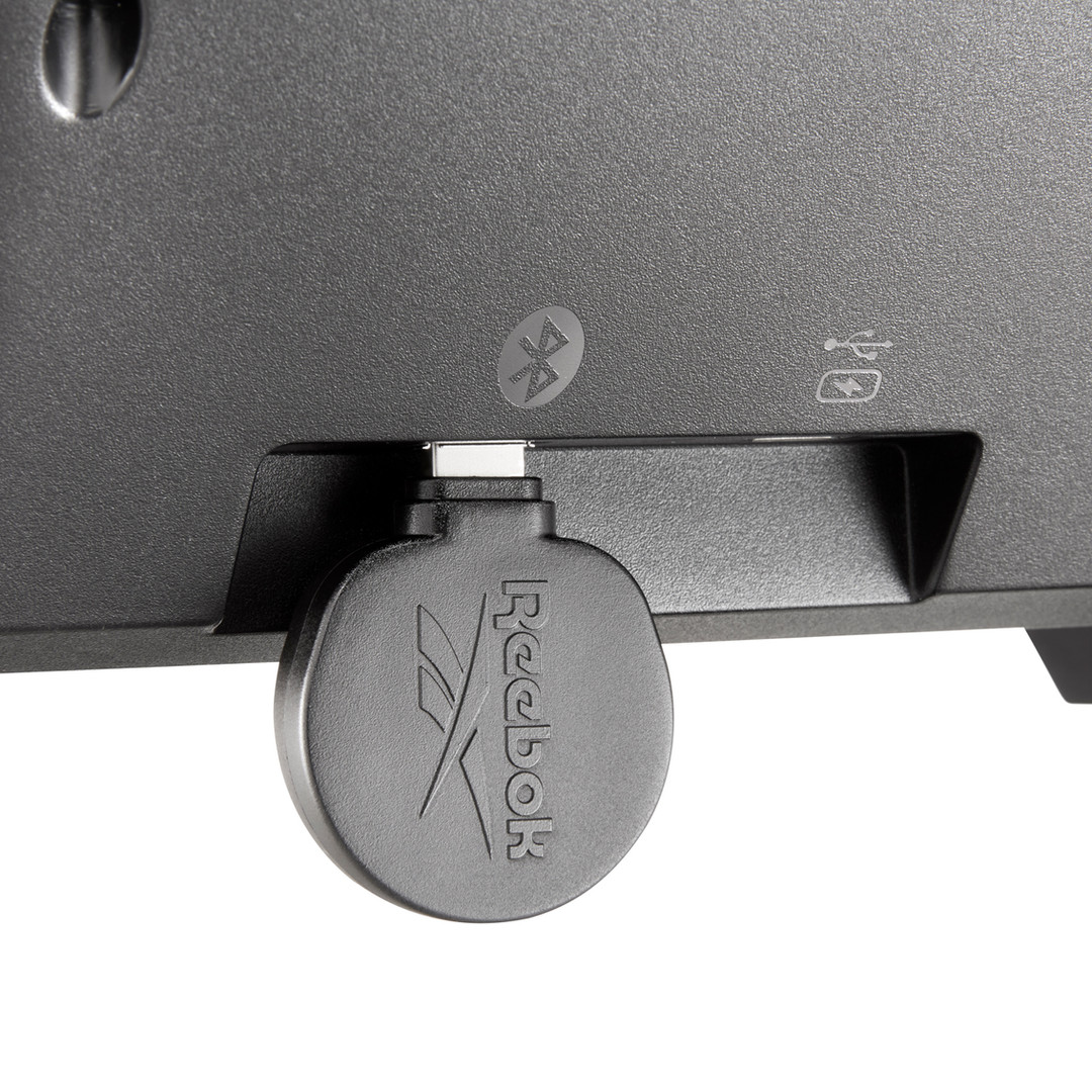 Reebok black FR30 Floatride treadmill
