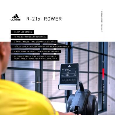 adidas R-21x Rower Console