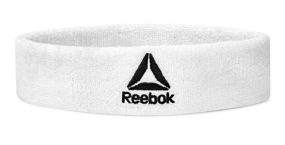 Reebok Training Sports White Sweatband