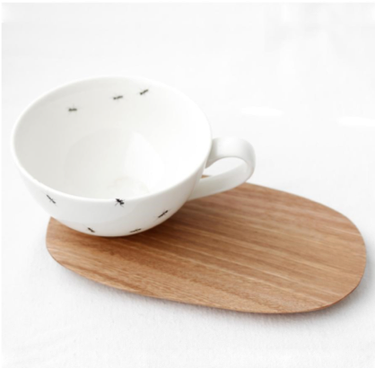 ANT LARGE CUP & SAUCER