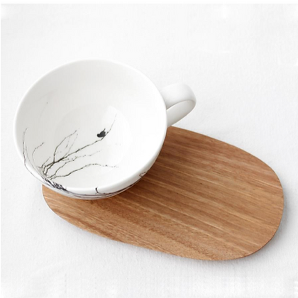 BRANCH LARGE CUP & SAUCER