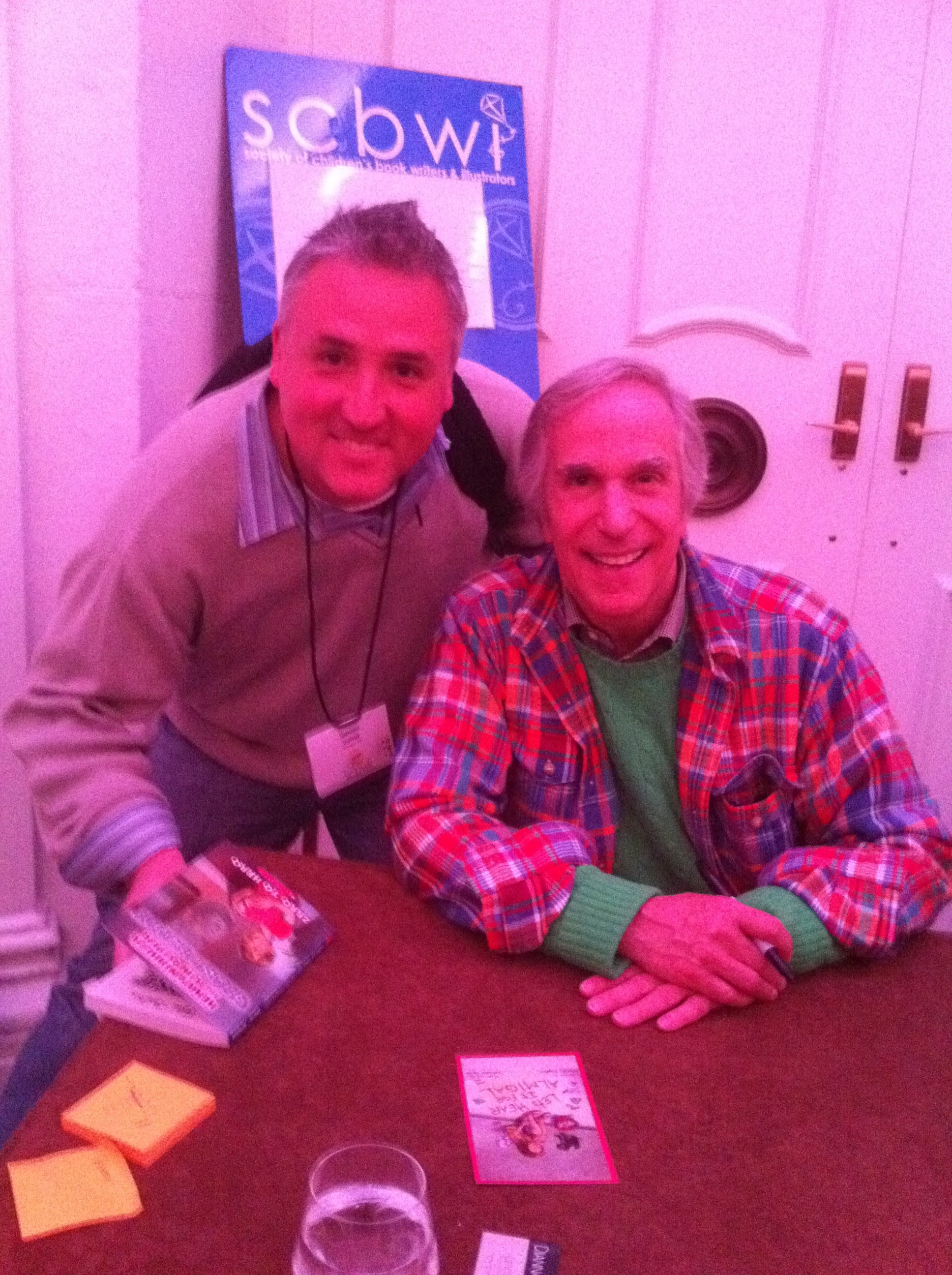 Hanging with the Fonz!