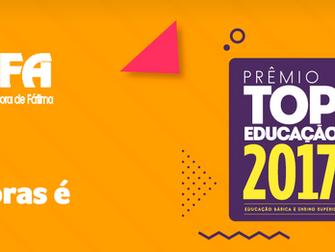 Prêmio TOP Educação 2017: a Rede Pitágoras é penta!