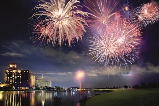 J.W. Marriott Orlando Grande Lakes - Fireworks Show
