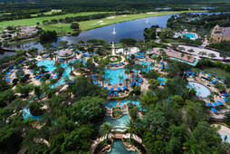 J.W. Marriott Orlando Grande Lakes - Pool Aerial View