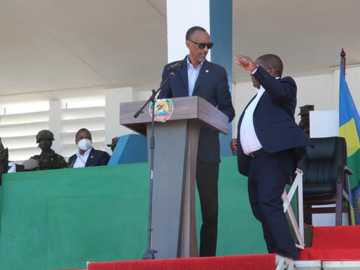 Paul Kagame diz que há quase dois mil homens do Ruanda em Moçambique