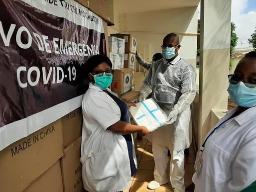 Fundação de caridade TZU CHI Moçambique apoia hospital da Polana Caniço na luta a covid-19
