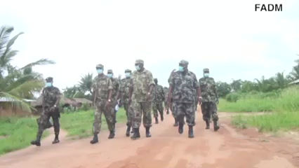 Generais moçambicanos preocupados com Cabo Delgado