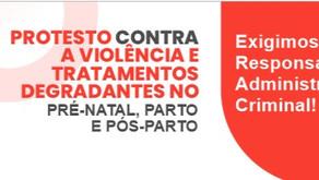ONG's protestam contra tratamentos degradantes no pré-natal, parto e pós parto