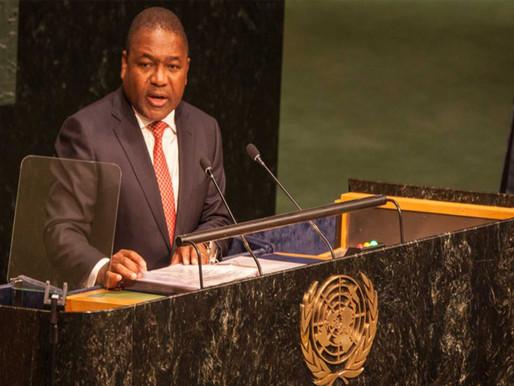 Nyusi quer Moçambique no Conselho de Segurança das Nações Unidas