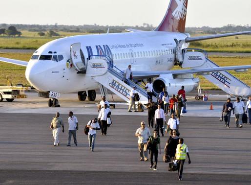Moçambique retoma voos com seis países em regime de reciprocidade