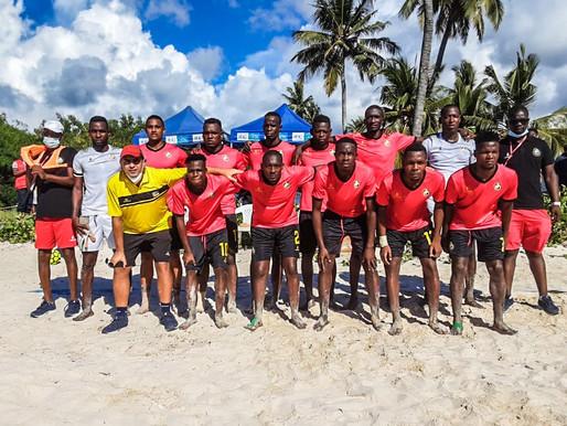Moçambique apurado para o Campeonato africano de futebol de praia