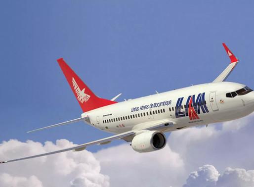 LAM prolonga até janeiro ligações semanais entre Maputo e Lisboa