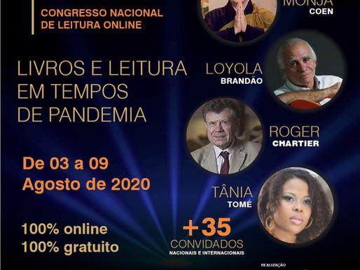 Monja Coen, Tânia Tomé e Rogier Chartier são os destaques da 3ª edição em Congresso no Brasil