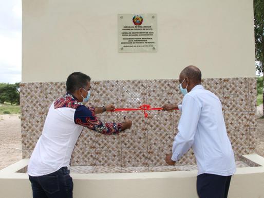 África Muslim Agency- Direct Aid oferece sistema de água a Escola e comunidade em Marracuene