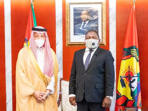 PR recebeu Ministro do Estado e dos Negócios Estrangeiros da Árabia Saudita