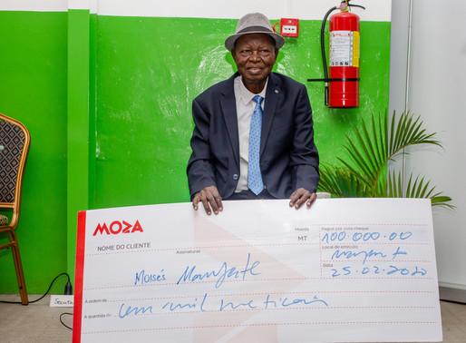 Moza Banco associa sua marca à homenagem ao músico Moisés Mandlate