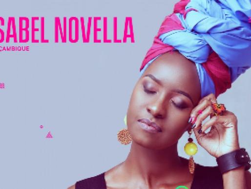 Isabel Novela concorre a melhor artista africana nos SAMA