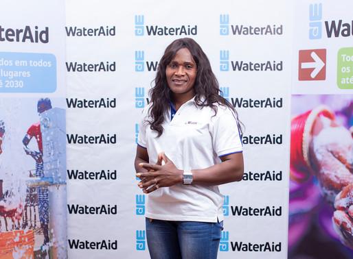 Lurdes Mutola nomeada Embaixadora da WaterAid