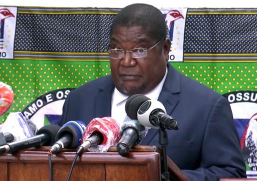 Liderança da RENAMO defende apoio externo para resolução do conflito em Cabo Delgado