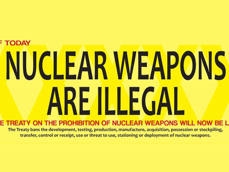 We Stand For the Ocean...and Against Nuclear Weapons