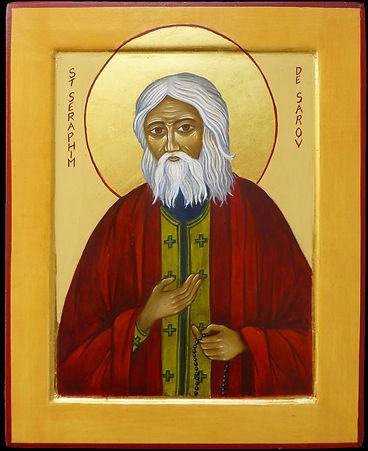 Saint Séraphim avait pour habitude d'accueillir ses visites par ces mots: «Ma Joie! Christ est ressuscité!» A Motovilov qui lui demanda un jour : « Quelle est le but de la vie chrétienne ? » Saint Séraphim répondit : « C'est l'acquisition du Saint-Esp