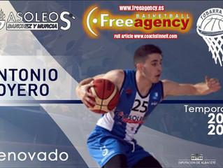 Antonio Boyero Signs in Spain