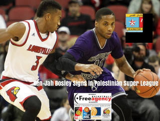 Free Agency Client and KPA MVP Ken-Jah Bosley Signs in Palestine Super League
