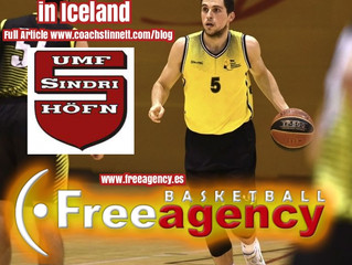 Pujadas Signs with Sindri Basketball Club in Iceland