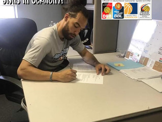 Free Agency Client Colton Lewis Signs in Germany