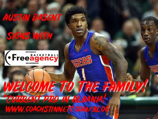 Dasent Signs Agency Contract with Free Agency Basketball