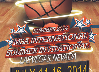 Coach Stinnett will Coach at the MSA International Camp in Vegas July 14-16