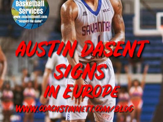 Austin Dasent Signs in Albania