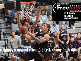 6-5 High Riser Erik Kinney Signs with Free Agency Basketball