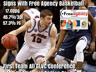 Bellarmine University Standout Brent Bach Signs with Free Agency Basketball