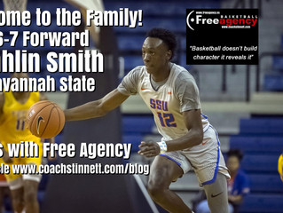 6-7 Jahlin Smith Signs with Free Agency Basketball