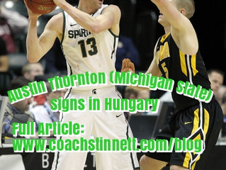 SBS/Free Agency Collaborate with Closer Sport to Place Austin Thornton (Michigan State)