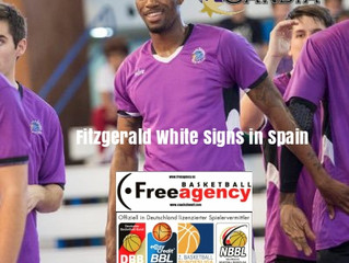 Free Agency Client Fitzgerald White Signs in Spain