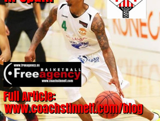 D'von Campbell Signs in Spain