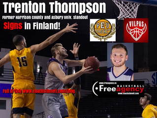 Trenton Thompson Signs in Finland