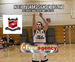 Aleix Pujadas Signs in Top League Ireland