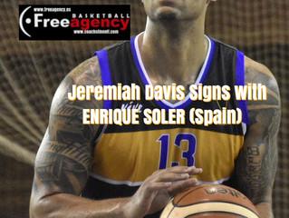 Jeremiah Davis with Enrique Soler in Spain