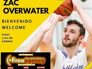 Zac Overwater Signs in Spain with CB Es Castell