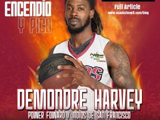 Demondre Harvey Signs in the Dominican Republic