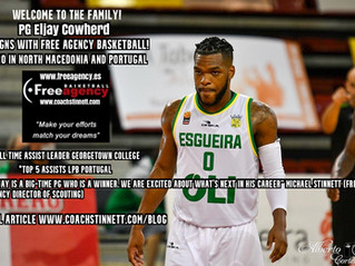 PG Eljay Cowherd Signs with Free Agency Basketball