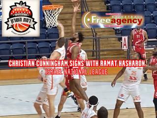 Christian Cunningham Signs Ramat Hasharon (Israel)