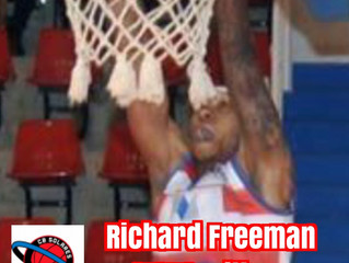 Freeman Signs in Spain with CB Solares (First American in Team History)